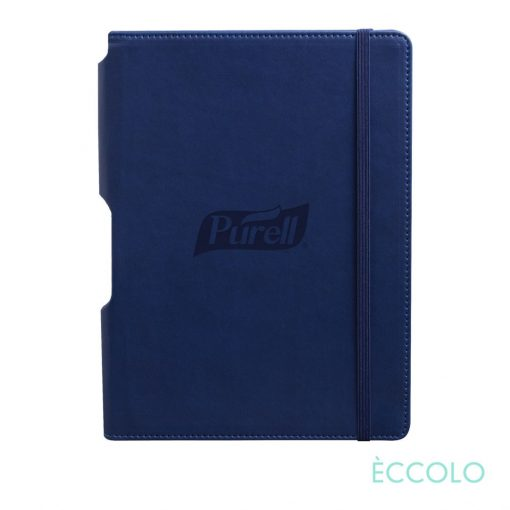 "Eccolo® Tempo Journal - (M) 5¾""x8¼"" Navy Blue"