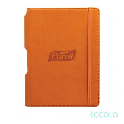 "Eccolo® Tempo Journal - (M) 5¾""x8¼"" Orange"