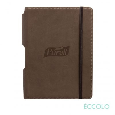 "Eccolo® Tempo Journal - (M) 5¾""x8¼"" Brown"